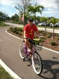 Bike ride around Clearwater Beach, FL