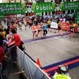 Gasparilla Half Marathon finish- Tampa, FL