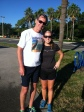 Run on Bayshore with Dad