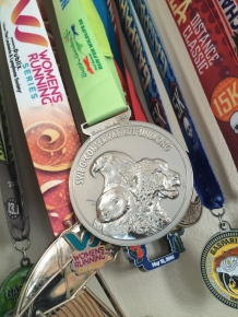 Save the Wildlife 5k Medal